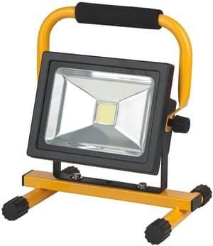 Mobile Akku Chip LED-Leuchte 30W Akku wechselbar, mit Netzteil <IP54>