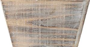 Bote en bois, 20x20x11cm