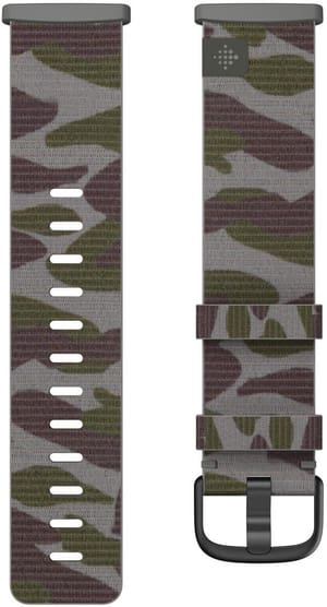 Versa 3/Sense Hybridgewebe Armband Camo Large