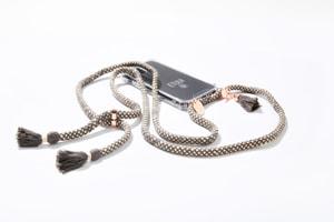 Etuui Chaîne de téléphone portable Dubai iPhone 12 / 12 Pro