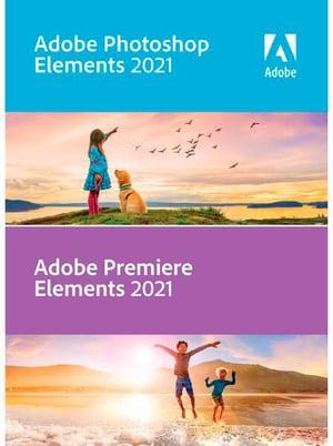 Photoshop & Premiere Elements 21 Box, Upgrade PC (D)