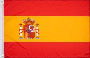 Spanien Länderfahne