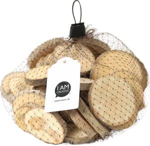 Dischi di legno, 3-6 x 0.8cm