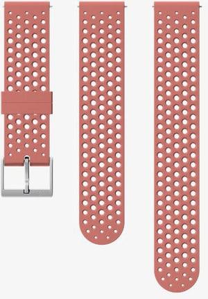 20mm Silicone Strap Granite Red S+M