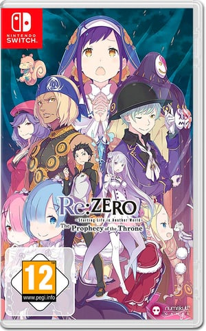 NSW - Re:ZERO - The Prophecy of the Throne D