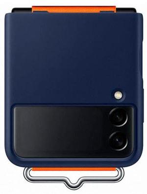 Galaxy Z Flip3 Silicone Strap Navy
