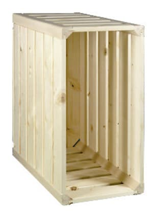 Cassetta in legno A1/4