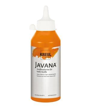 KREUL Javana Stoffmalfarbe für helle Stoffe Orange 250 ml