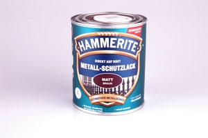 Pittura per metalli opaco marrone 750 ml