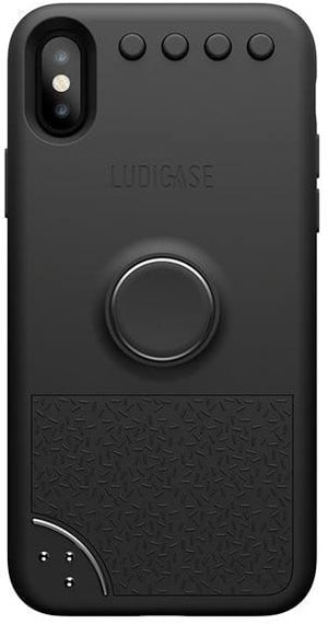 Back Cover Ludicase Space Gray