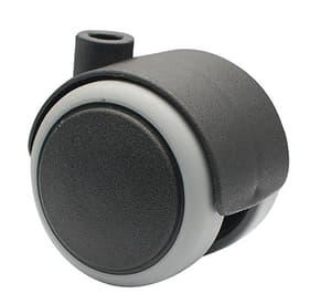 Möbel-Doppelrolle D50 mm