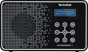 TechniRadio 2 - Noir/Blanc