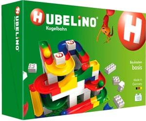Hubelino Kugelbahn: Baukasten Basis 123 Teile