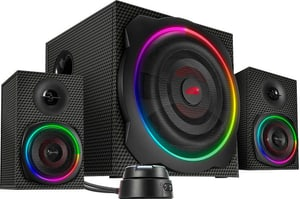 Gravity Carbon RGB 2.1 Subwoofer System