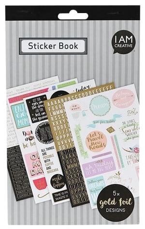 Stickerbook, oro