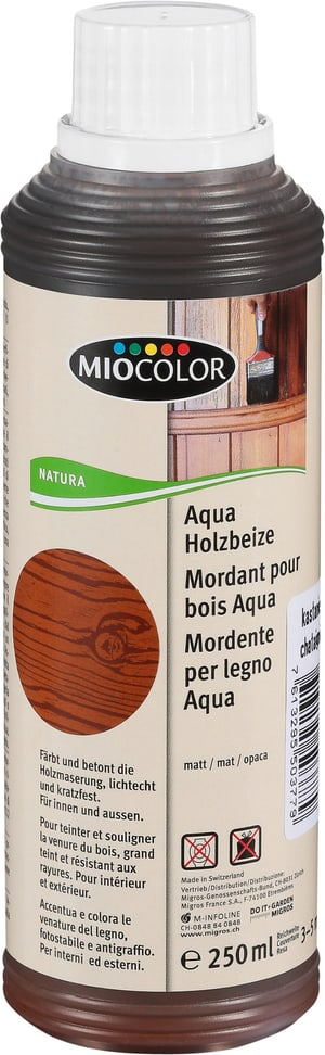 Aqua Holzbeize Kastanie 250 ml