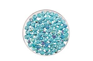 Perline di vetro af. 4mm 100pz acqua rainbow