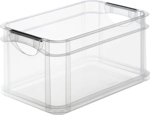 Systembox 15l, Kunststoff (PP) BPA-frei, transparent, A4