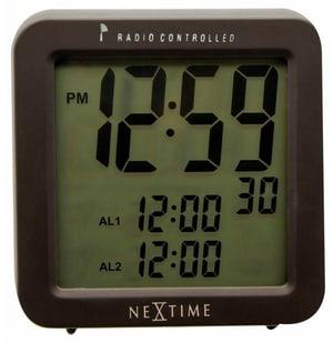 Alarm Clock Square Alarm RC 9 x 9.2 c