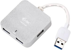 USB 3.0 Metal Passive HUB 4 Port