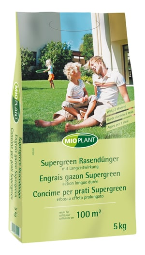 Supergreen-Dünger, 5 kg
