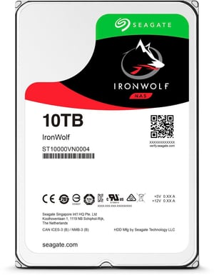 "IronWolf SATA 3.5"" 10 TB"