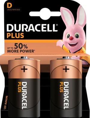 Plus Power D / LR20 2 pièces pile