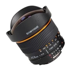 8mm / 3.5  IF MC Fisheye CS II Obiettivo Nikon