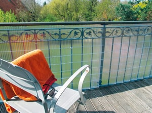 Habillage p. balcon Sunline 300x90cm