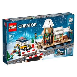 Lego Creator Winterlicher Bahnhof 10259