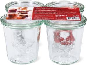 Rundrandglas-Set