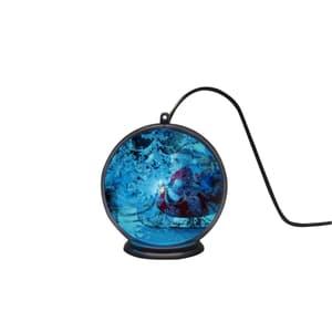 3D Ologramma  palla neve paesaggio
