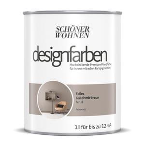 Designfarbe Kaschmirbraun 1 L