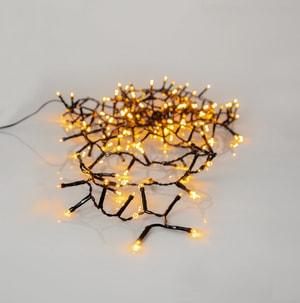Büschellichterkette golden WW 180 LEDs