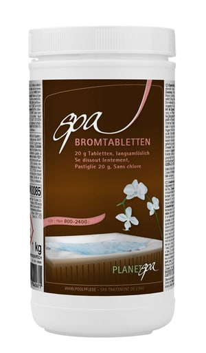Planet Spa Brom Tabletten 20g