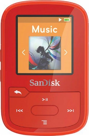 Clip Sport Plus 16GB - Rouge