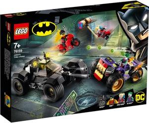 DC Universe Super Heroes™ La poursuite du Joker en moto à 3 roues 76159