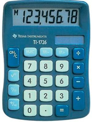 Grundrechner TI-1726 8-stellig