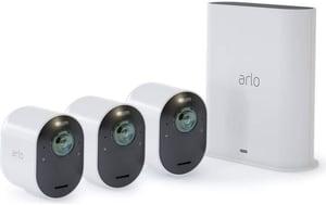 Ultra 4K UHD avec 3 caméras de sécurité