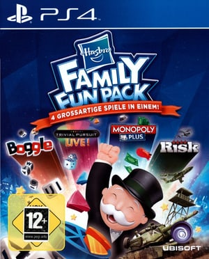PS4 - Hasbro Family Fun Pack