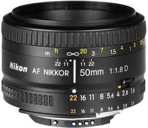 Nikkor AF 50mm/1.8 D objectif
