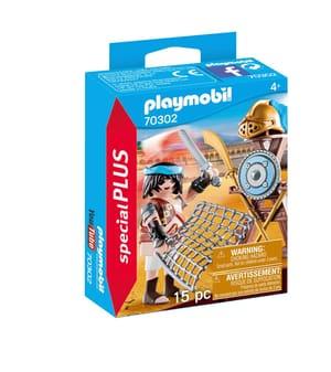 PLAYMOBIL 70302 Gladiatore con supporto per armi