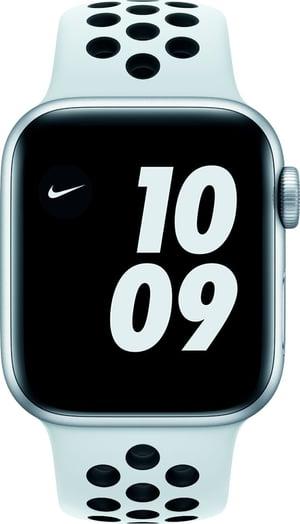Watch Nike SE GPS 40mm Silver Aluminium Pure Platinum/Black Nike Sport Band