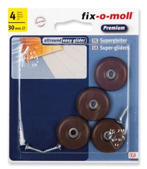 Universalgleiter mit Schraube 5 mm / Ø 30 mm 4 x
