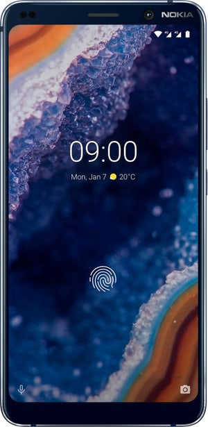 9 Pure View 128GB Dual SIM bleu