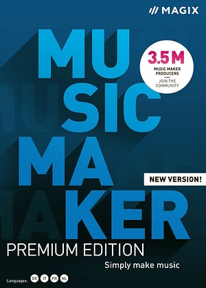 Music Maker Premium Edition 2021 [PC] (D/F/I)