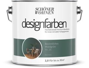 Designfarbe Besinnliches Waldgrün 2,5 l