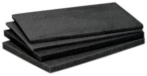 Jeu de blocs de mousse malettes 360 x 260 x 62 mm