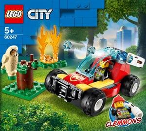 CITY 60247 Le feu de forêt