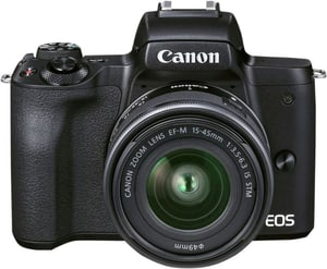 EOS M50 Mark II + EF-M 15-45mm F3.5-6.3 IS STM Value Up Kit